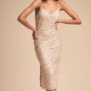 NWOT BHLDN Pastel Confetti Sequin Midi Dress